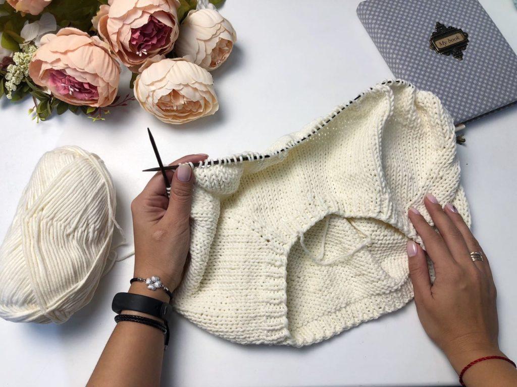 Базовый пуловер #tk_flax - Инструкция PDF
